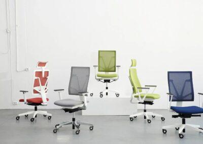 ergonomiczne fotele obrotowe 4me