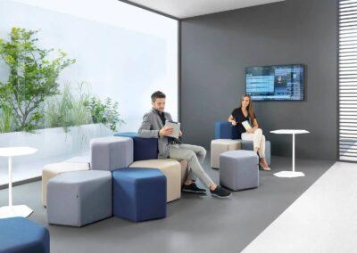 aranżacja soft seatingu bazalto