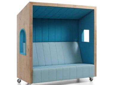 system akustyczny jak domek na plaży