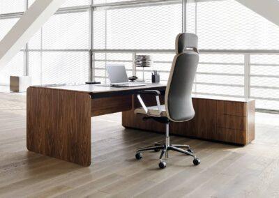 ergonomiczny fotel believe w aranżacji biurowej