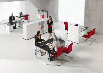 wygodne krzesła biurowe believe
