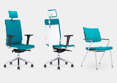 rodzaje krzeseł i foteli biurowych belite