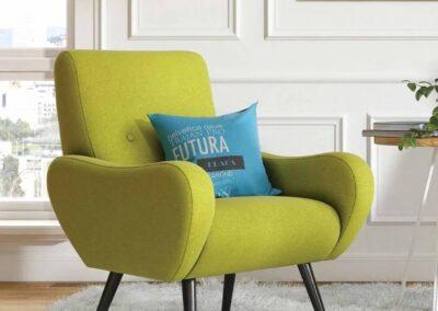 aranżacja fotela soft seating