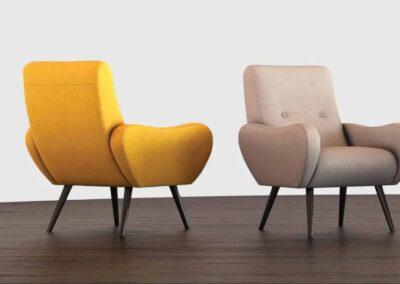 nowoczesne fotele soft seating
