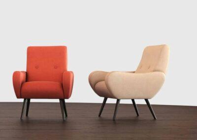 vintage soft seating