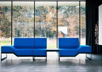 niebieski soft seating