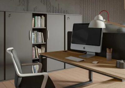 klasyczne biurko profil