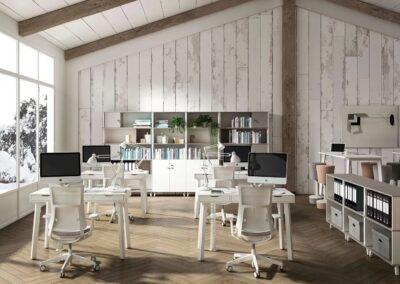 estetyczne biurko aske