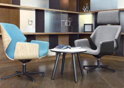 biurowa aranżacja soft seating booi