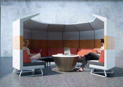system akustyczny ze stolikiem