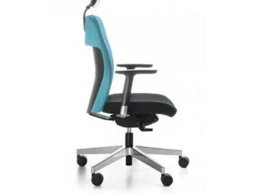 ergonomiczny fotel biurowy dual