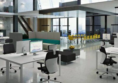 fotel obrotowy dual w przestrzeni biurowej
