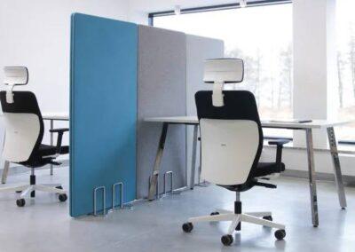 stylowy fotel biurowy dual