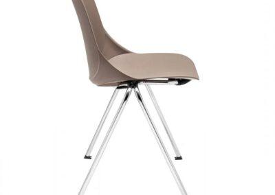krzesło o kubełkowym siedzisku