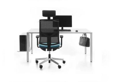 ergonomiczny fotel obrotowy eleven
