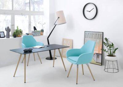 nowoczesny soft seating fan