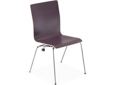 minimalistyczne krzesło konferencyjne