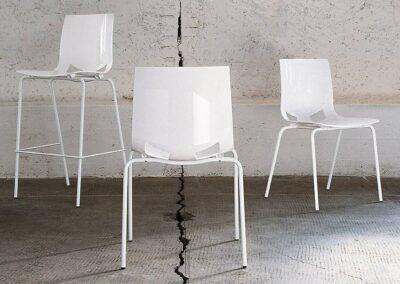 rozmiary białych krzeseł