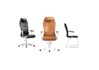 różne warianty krzeseł i foteli galileo