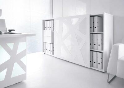 skandynawskie szafy biurowe