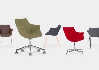 rodzaje krzeseł konferencyjnych