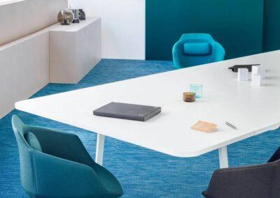 obrotowe ergonomiczne krzesła