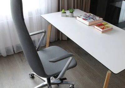 aranżacja fotela biurowego lumi