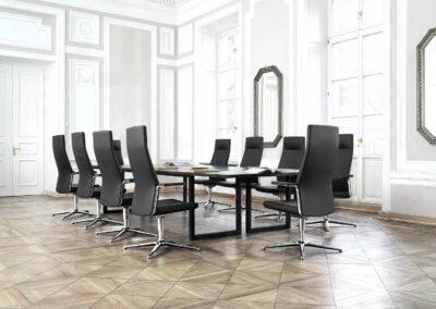 fotele biurowe my turn do sal konferencyjnych