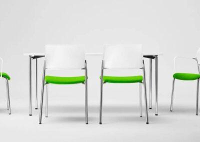 krzesła w nowoczesnym stylu