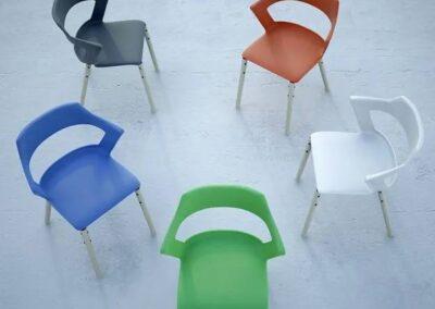 kolory konferencyjnych krzeseł