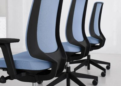 ergonomiczny fotel lightup