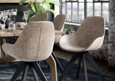 stylowe uniwersalne krzesła