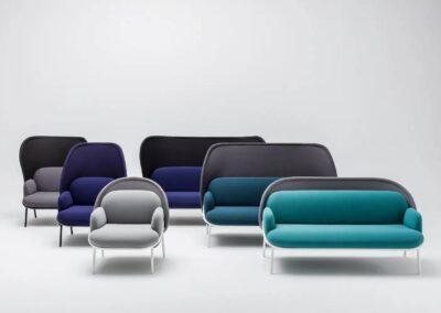 rodzaje siedzisk soft seating mesh