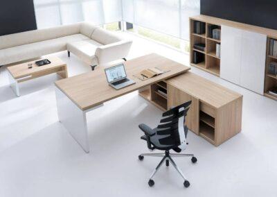 meble gabinetowe mito w przestrzeni biurowej