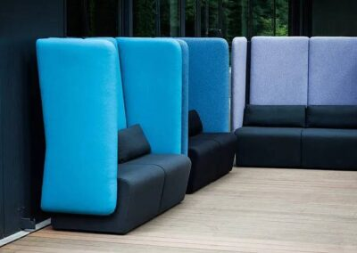 zabudowane sofy i fotele