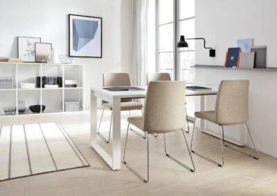 nowoczesne krzesła biurowe motto