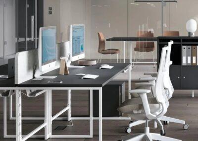ergonomiczne biurko net