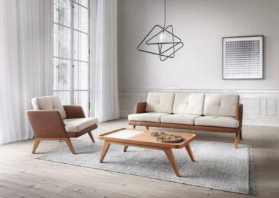 subtelny design sof seatingu