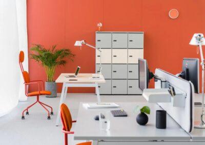 ergonomiczne biurko ogi m