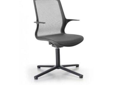 innowacyjne krzesło konferencyjne