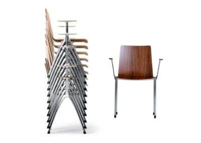 nowoczesne krzesło z podłokietnikami