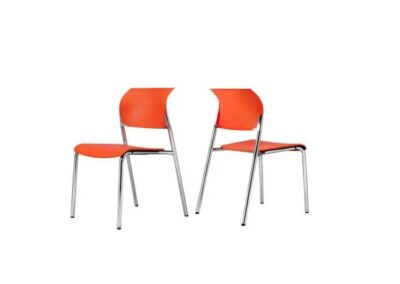 krzesła z profilowanym oparciem