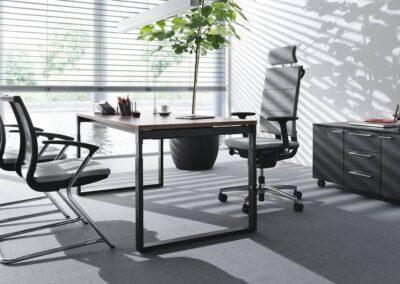 krzesła i fotele sail w biurze