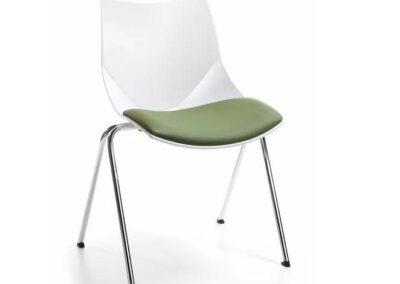 wyprofilowane krzesło konferencyjne