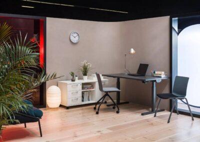 nowoczesna biurowa aranżacja