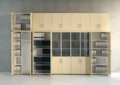 klasyczne szafy aktowe