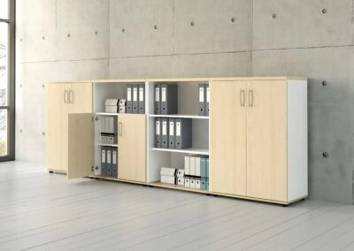 niskie szafy aktowe