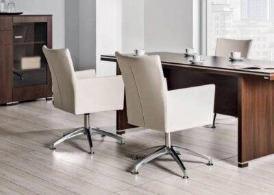 eleganckie wygodne fotele do biura