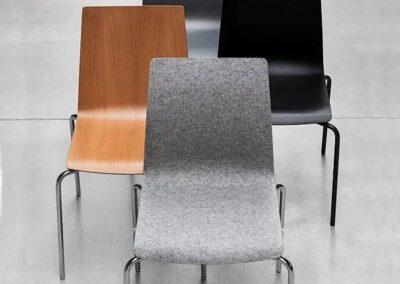 lekkie wygodne krzesła