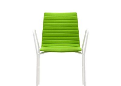 lekkie mobilne ergonomiczne krzesło